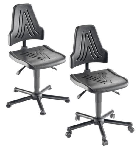 mey chair arbeitsstuhl bis 150 kg belastbar mit pu sitz h henverstellbar fu rundrohr udob r. Black Bedroom Furniture Sets. Home Design Ideas