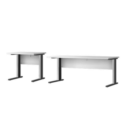 Welle Mobel Schreibtisch Mit C Fussgestell Hxt 735x800 Mm Platte